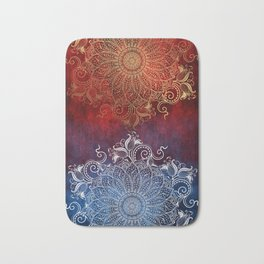 Mandala - Fire & Ice Bath Mat