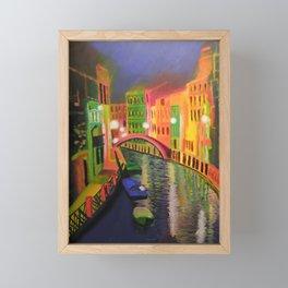Siskins Venice a la Moi Framed Mini Art Print