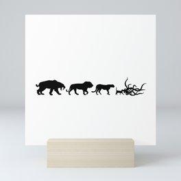 Flerken Evolution Mini Art Print
