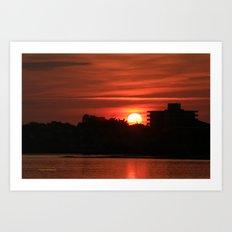 Dunlawton Sunrise Art Print