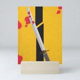 KILL BILL Tribute Mini Art Print