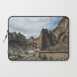Between a Rock and a Hard Space Laptop Sleeve