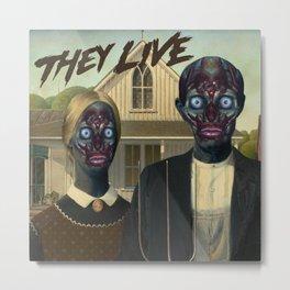 They live (1988) Metal Print