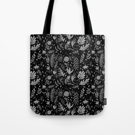 Black spring Tote Bag