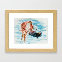 Tri-Cuttle-ing Framed Art Print
