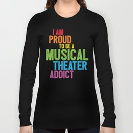 Musical Theater Pride Long Sleeve T-shirt