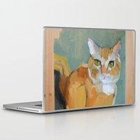 garfield Laptop & iPad Skins featuring Garfield by Suzanna Schlemm
