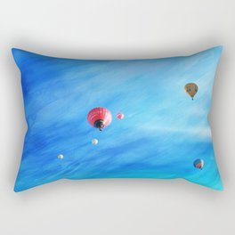 Come fly with me... Rectangular Pillow