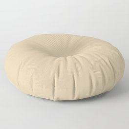 Soybean Pantone fashion pure color trend Spring/Summer 2019 Floor Pillow