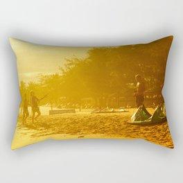Mui ne beach Rectangular Pillow