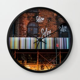 Love. Dumbo Brooklyn Wall Clock