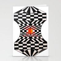 fibonacci Stationery Cards featuring Fibonacci by Jose Luis