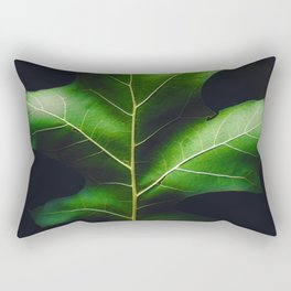 The Leaf (Color) Rectangular Pillow