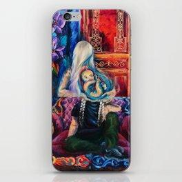 """""""Teardrop"""" Painting iPhone Skin"""