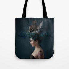 Sailing - Blue Tote Bag