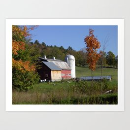 Fresh Fall Laundry Art Print