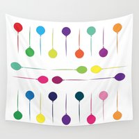 balloon Wall Tapestries featuring Balloon  by rivercbishop