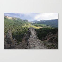 Wolf Creek Pass   Colorado Canvas Print