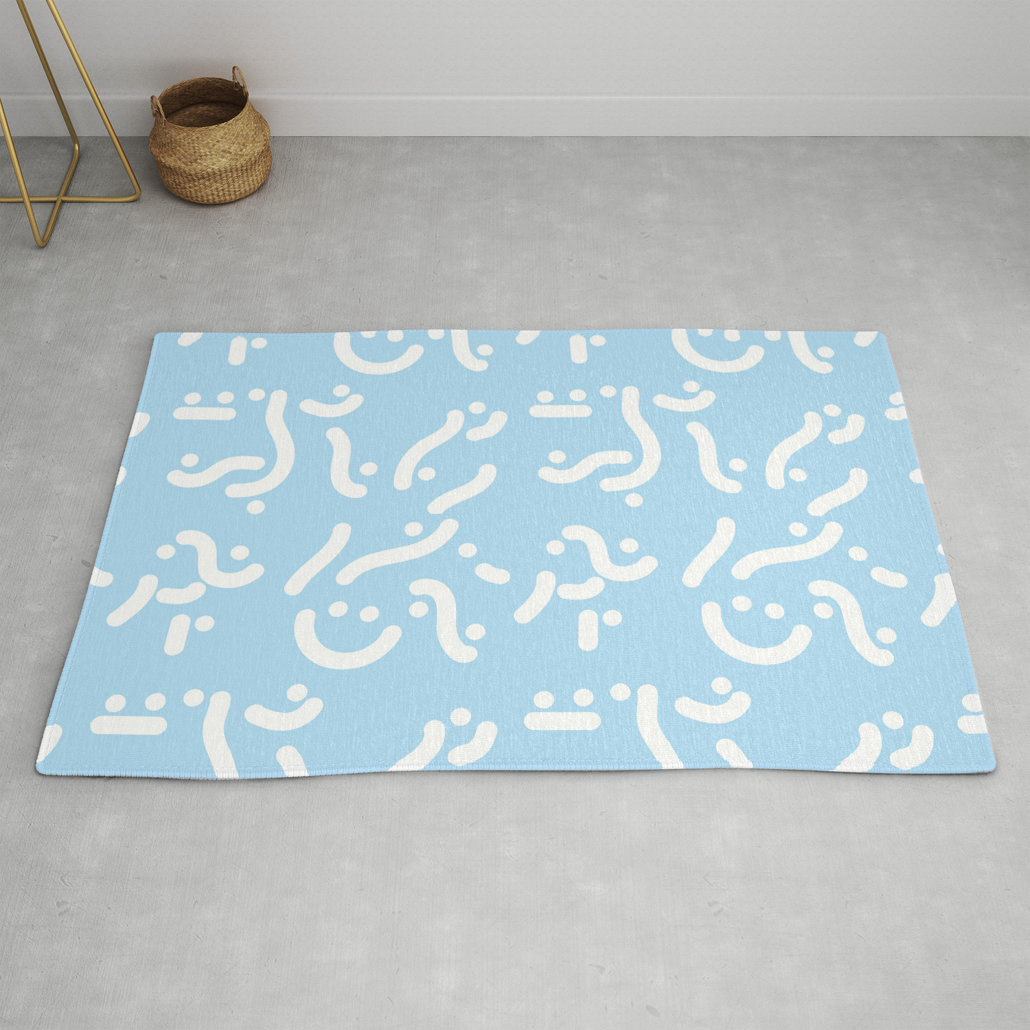 Curvers Lines Runners Rug By Mihaiparaschiv
