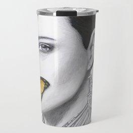 Speak No Evil - Flower Girl Series Travel Mug