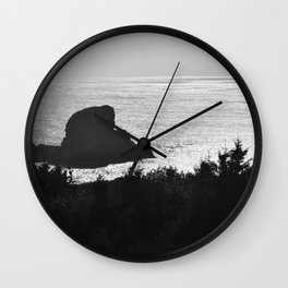 Neahkahnie Mountain Lookout, Oregon Wall Clock