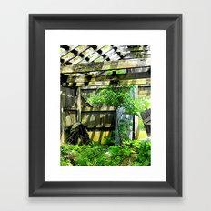 Nature Taking Over 2 Framed Art Print