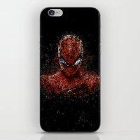 spider man iPhone & iPod Skins featuring Spider Spider-Man by Diego Farias