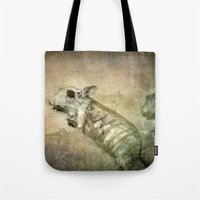 bond Tote Bags featuring Bond by Adelina Campean