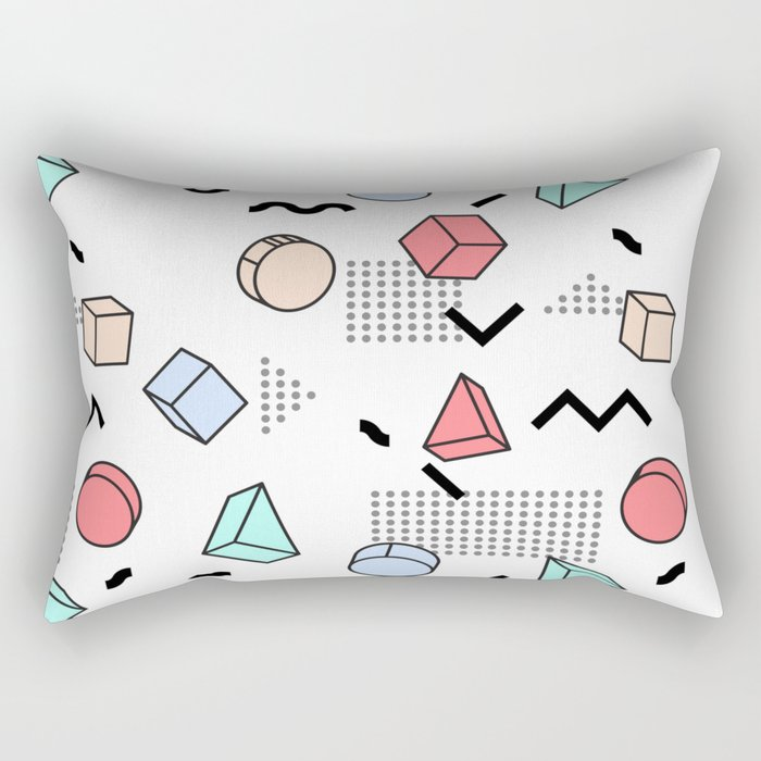 Explosion Menphis Rectangular Pillow