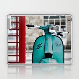 Turqoise Blue Lambretta GP Laptop & iPad Skin