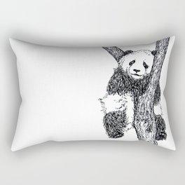 PANDA THE TREE HUGGER Rectangular Pillow