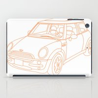 mini cooper iPad Cases featuring My Mini Cooper by Aimee Liwag