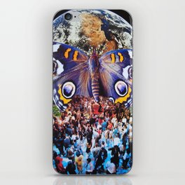 This is How we Walk on the Moon iPhone Skin