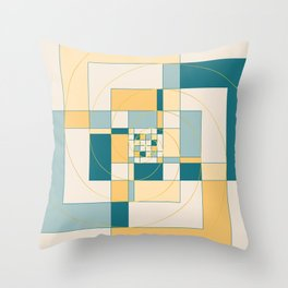 Fibonacci Experiment IV Throw Pillow