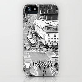 Street people in New York iPhone Case