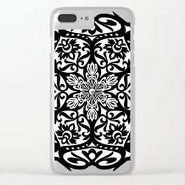 Tal Art Mandala Clear iPhone Case