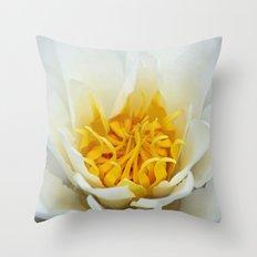 Lotus Heart Throw Pillow