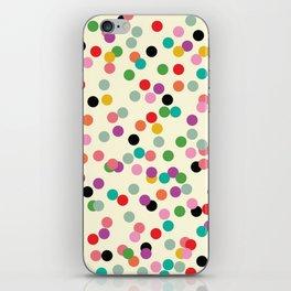 Confetti #1 iPhone Skin