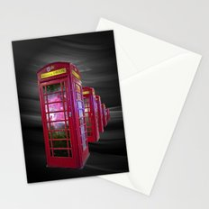 Space Beaming Boxes Stationery Cards