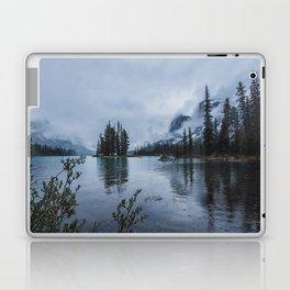 Fairy Tale Landscape Maligne Lake Alberta Canada Laptop & iPad Skin