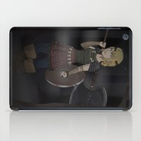how to train your dragon iPad Cases featuring Astrid - How To Train Your Dragon by Kallian