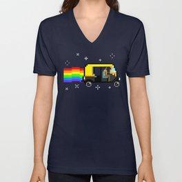 The Rickshaw Ride Unisex V-Neck