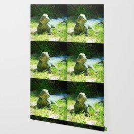 Iguana and Chill Wallpaper