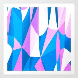 Psycadelic Candycane Art Print