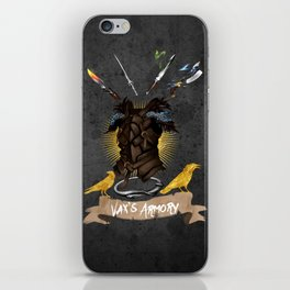 Vax's Armory iPhone Skin