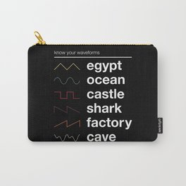 Know your Waveforms Carry-All Pouch