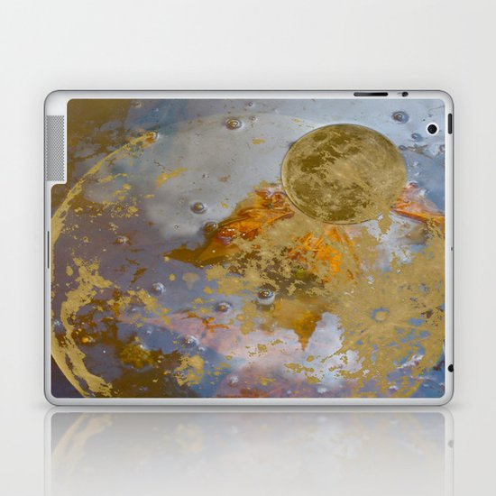 When the Moon fell into the Pond Laptop & iPad Skin