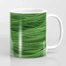 Green Feathers Coffee Mug