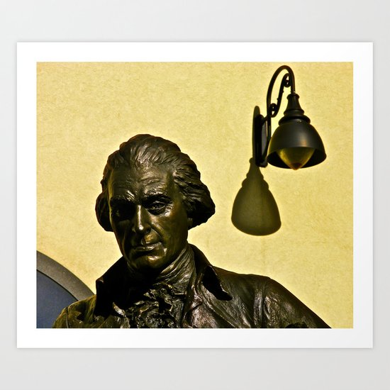Jefferson's Idea Art Print