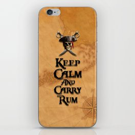 Keep Calm And Carry Rum iPhone Skin
